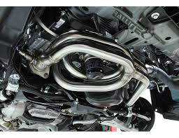 sti subaru 2004 perrin equal length big tube headers wrx 2002 2014 sti 2004
