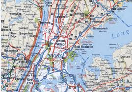 Highway Map Usa by Bronx Highway Map