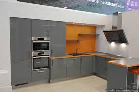 Grey Gloss Kitchen Cabinets by Focus Mineral Grey High Gloss Kitchen U203a Kutchenhaus