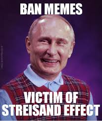 Meme Law - bad luck putin russian anti meme law know your meme