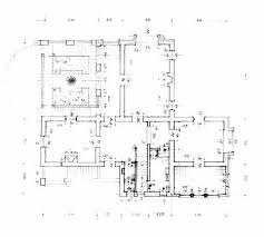 villa muhammad fathy working drawing ground floor plan and