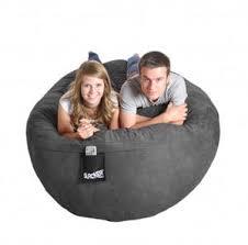 slacker sack u2014 6 u0027 beanbag sofa