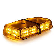 go light magnetic base xprite gen 3 amber yellow 36 led 18 watts high intensity law