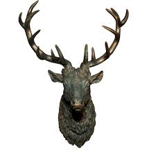 28 stag head home decor faux deer head home decor