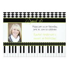 piano keys birthday cards greeting u0026 photo cards zazzle