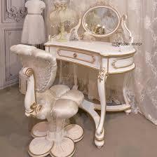 European Style by European Style Childs Dresser Flower Shape Antique Vanity Dresser
