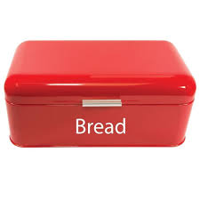 bread bin kitchen storage loaf roll box vintage tea coffee sugar