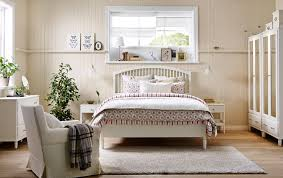Country White Bedroom Furniture by Tyssedal Bedframe Wit Large Beds Country Style And Drawers