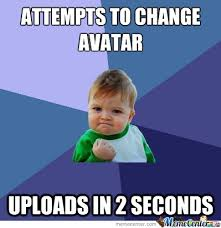 Upload Image Meme - avatar upload by marshallandco meme center