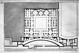 Caesars Palace Floor Plan The Roman Antiquities T 1 Plate Xlv Plan Of Upper Floor Of The