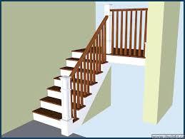 Home Depot Stair Railings Interior Oak Stair Railings Interior Rustic Birch Wooden Staircase Wooden