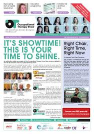 Nec Birmingham Floor Plan Occupational Therapy Show 2015 Pre Show Newsletter By Closerstill