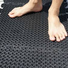Interlocking Rubber Floor Tiles Eco Drain U201d Interlocking Rubber Tile