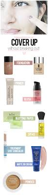 makeup for acne e skin