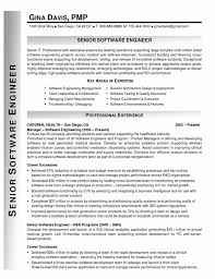 Sample Resume For Software Engineer Experienced by Sample Resume Template For Senior Software Engineer For Microsoft