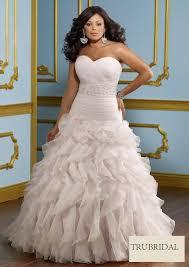 plus size wedding dresses sweetheart drop waist beading tiered organza court length plus