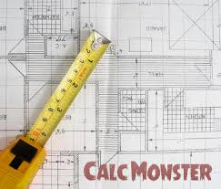 Sq Feet To Meters Square Footage Calculator Calcmonster Is King
