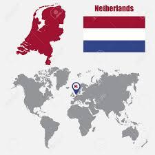 Map Of The Netherlands Netherlands On World Map Netherlands Antilles On World Map
