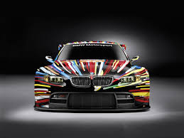 Bmw M3 Colour Bmw Art Car 17 Jeff Koons United States 2010 Bmw M3 Gt2