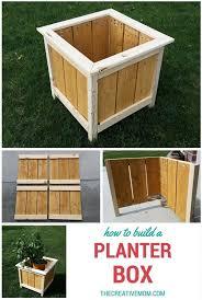 backyards modern how to build a planter box the creative mom 48