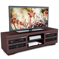 tv stand for 48 inch tv amazon com sonax b 097 rgt granville 66 inch warm cinnamon wood