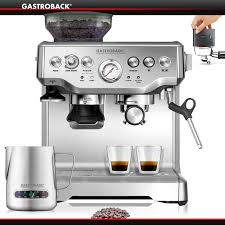 gastroback design espresso pro gastroback design espresso machine advanced pro g s cookfunky