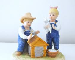 Home Interior Denim Days Figurines by Denim Days Figurines Lookup Beforebuying
