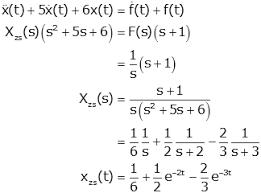 laplace transform table calculator zero input zero state responses
