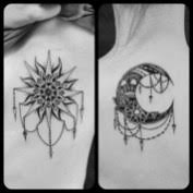 best 20 awesome matching sun and moon designs we