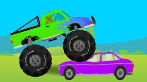 monster truck green
