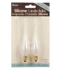 7 5 watt candle light bulbs darice 5w silicone bulbs for electric welcome candle ls 2pk