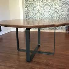 round walnut dining table round dining and kitchen tables custommade com