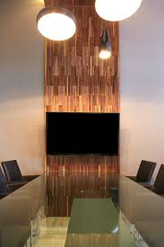 Wooden Wall Coverings by Vertex Duchateau