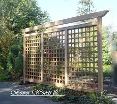 bower woods llc custom garden structures tuscan trellis patio