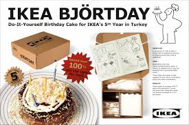application ikea cuisine ikea björtday promo pr ad by tbwa istanbul