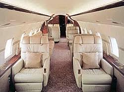 Global Express Interior Jet Airlines Test Business Bombardier Global Express Interior
