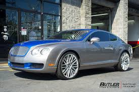 bentley custom rims bentley continental gt vehicle gallery at butler tires and wheels