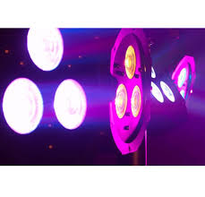 american dj mega tri 38 system lighting slim led par can wash light package with led rc remote chauvet 4play light bar