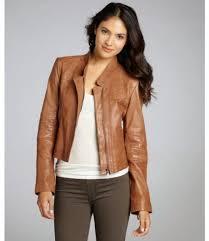 light brown vest womens light brown leather jacket women brown leather jacket