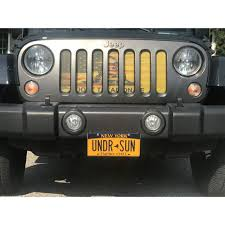 jeep grill decal under the sun dont tread on me old glory wrangler jk grille insert