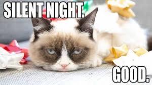 Grumpy Cat Memes Christmas - grumpy cat christmas meme 009 silent night comics and memes