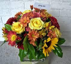 Sunflower Centerpiece Rose Sunflower Centerpiece Lilies Of The Alley