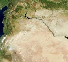 Map Of Syria by Large Detailed Satellite Map Of Syria Syria Asia Mapsland