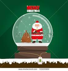 merry penguin wear santa hat stock vector 532511128