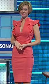 how racy rachel riley is covering up on countdown after her parade