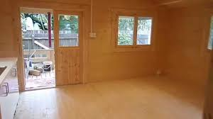 Derksen Portable Finished Cabins At Enterprise Center Youtube The Deluxe Cabin Youtube