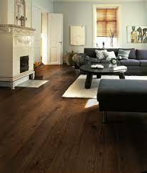 dark floor with dark furniture maybe something like this with a