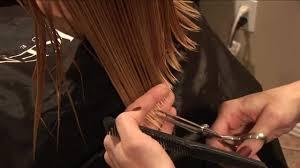 how to cut girls hair basic girls trim hair tutorial youtube