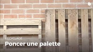 Recyclage Cagette Bois Apprendre à Poncer Une Palette Recycler Youtube