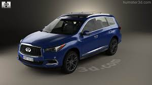 2016 infiniti qx60 360 view of infiniti qx60 2016 3d model hum3d store